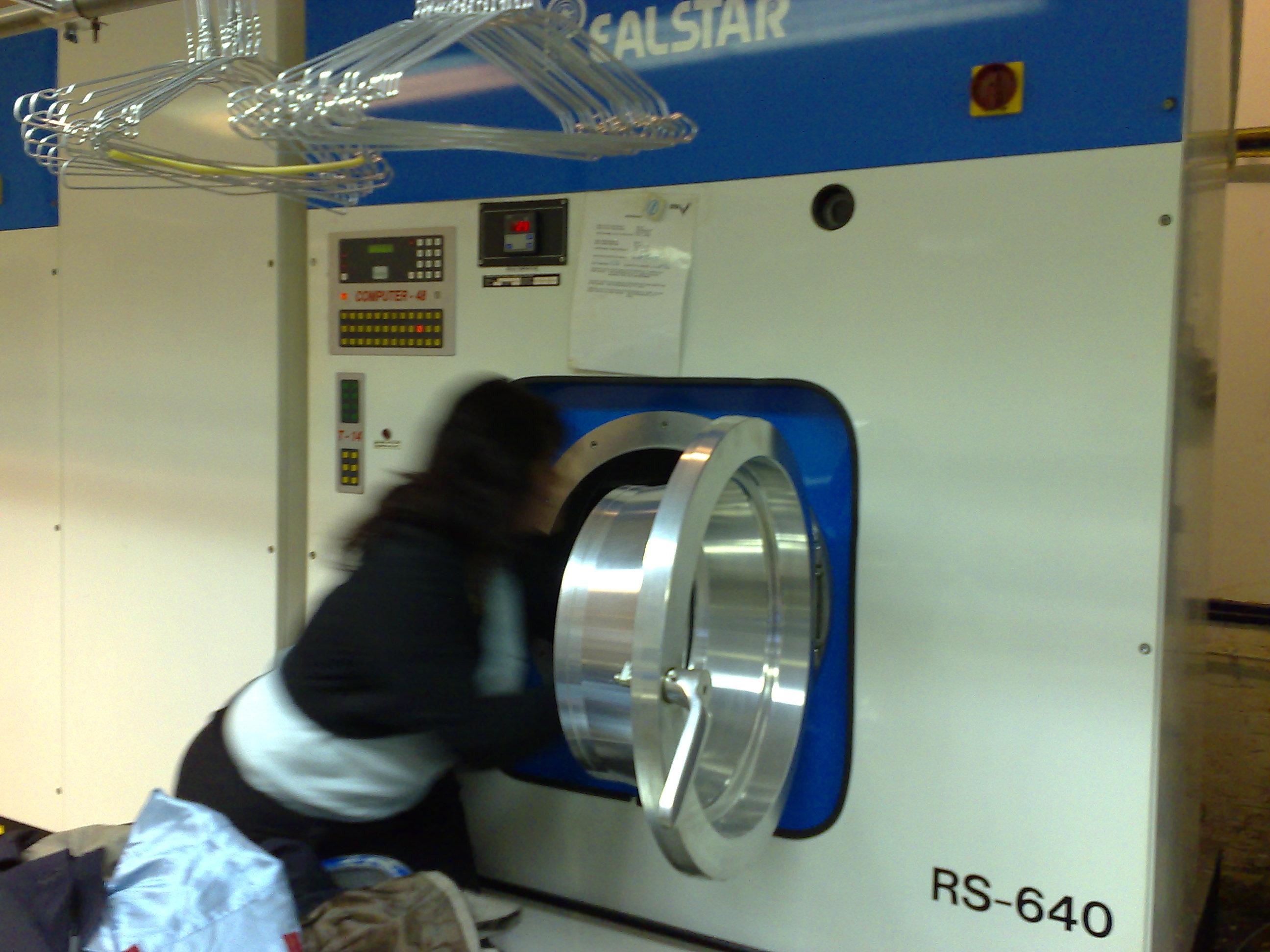 Gebruik van de wasmachines