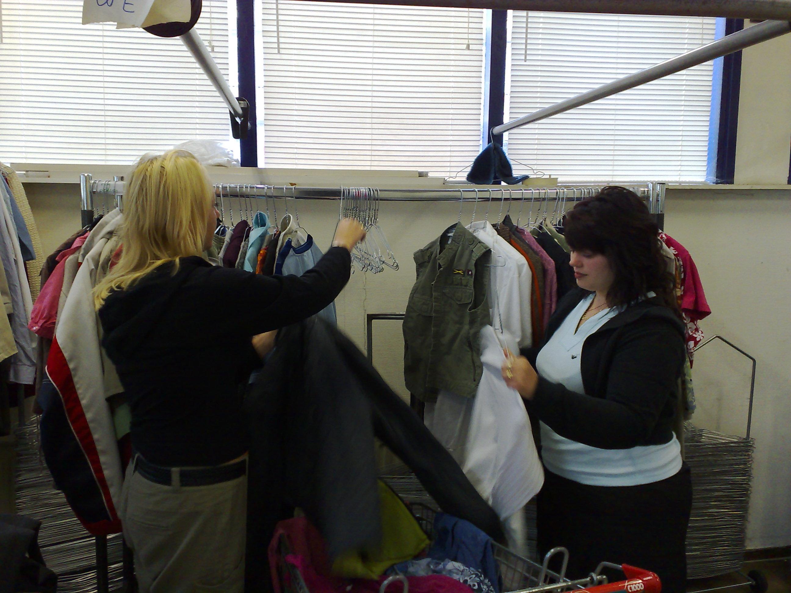 Selecteren van kleding